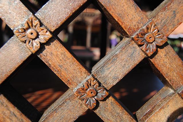 przęsła drewniane